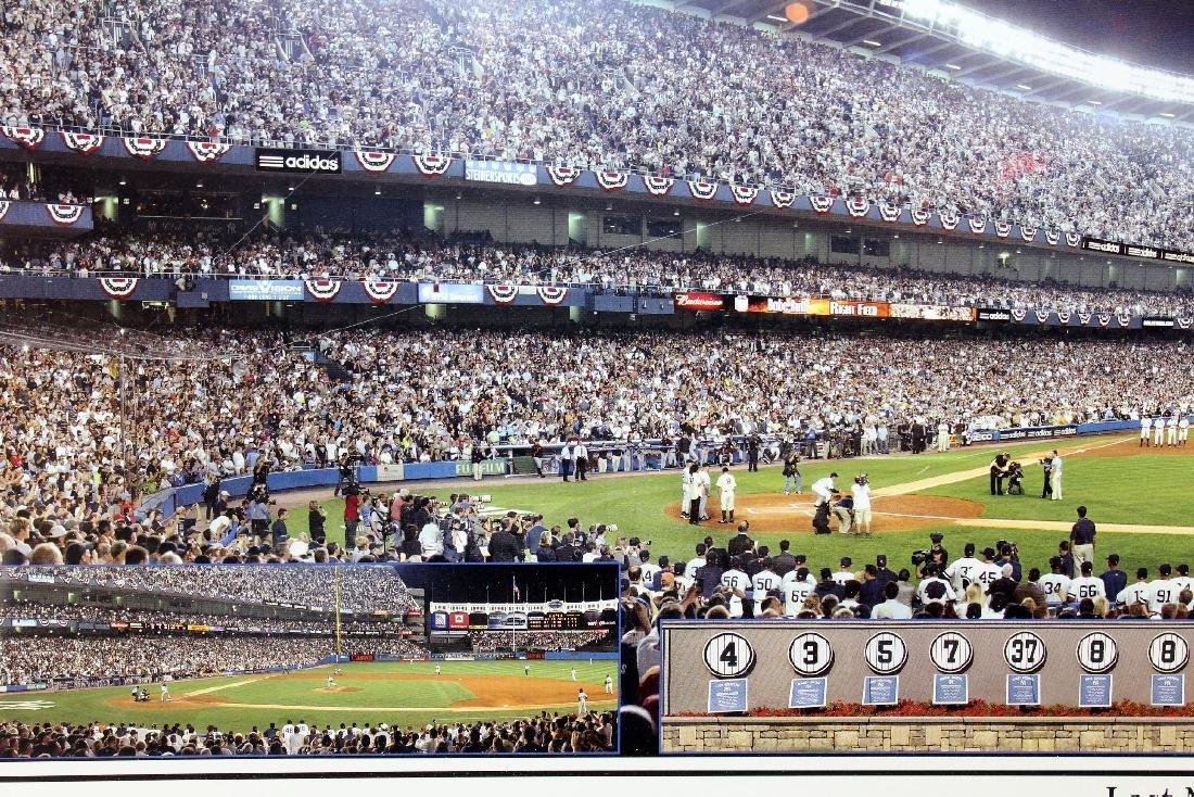 Last Night at Yankee Stadium commemorative print - 4