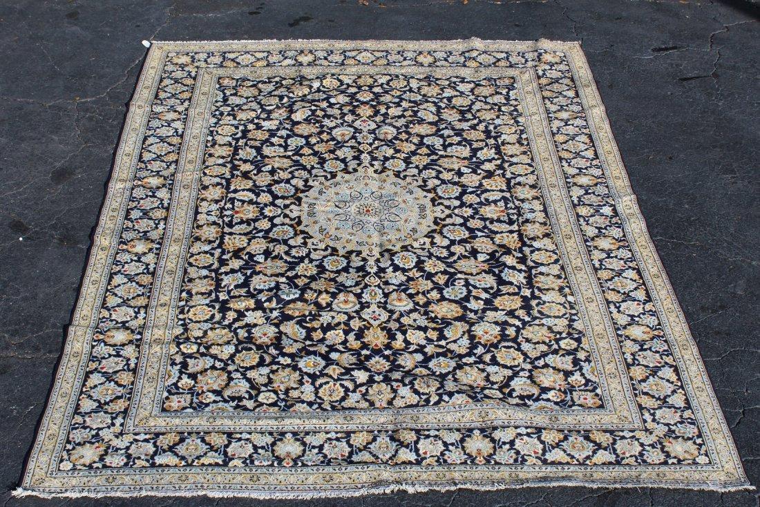 10 x 13' Persian Kashan wool rug - 2