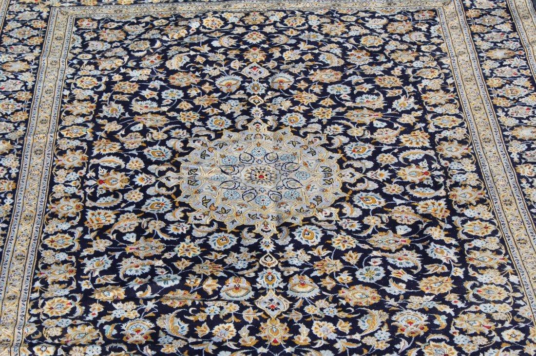 10 x 13' Persian Kashan wool rug - 3