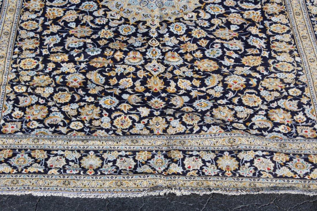 10 x 13' Persian Kashan wool rug - 4
