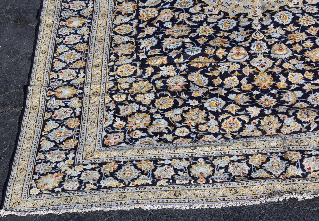 10 x 13' Persian Kashan wool rug - 5