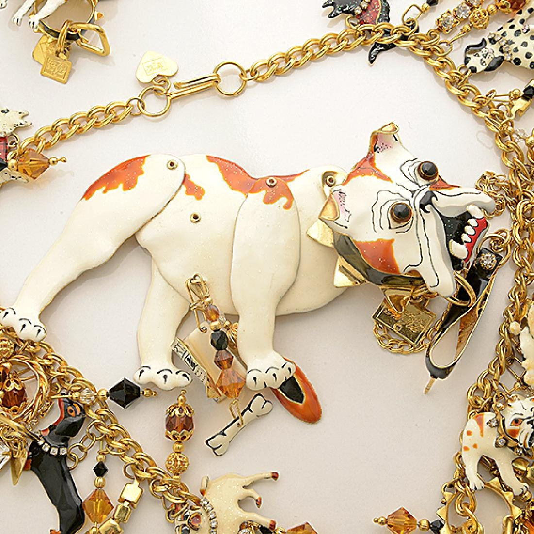 Lunch at the Ritz Couture Dog Theme Costume Jewelry - 2