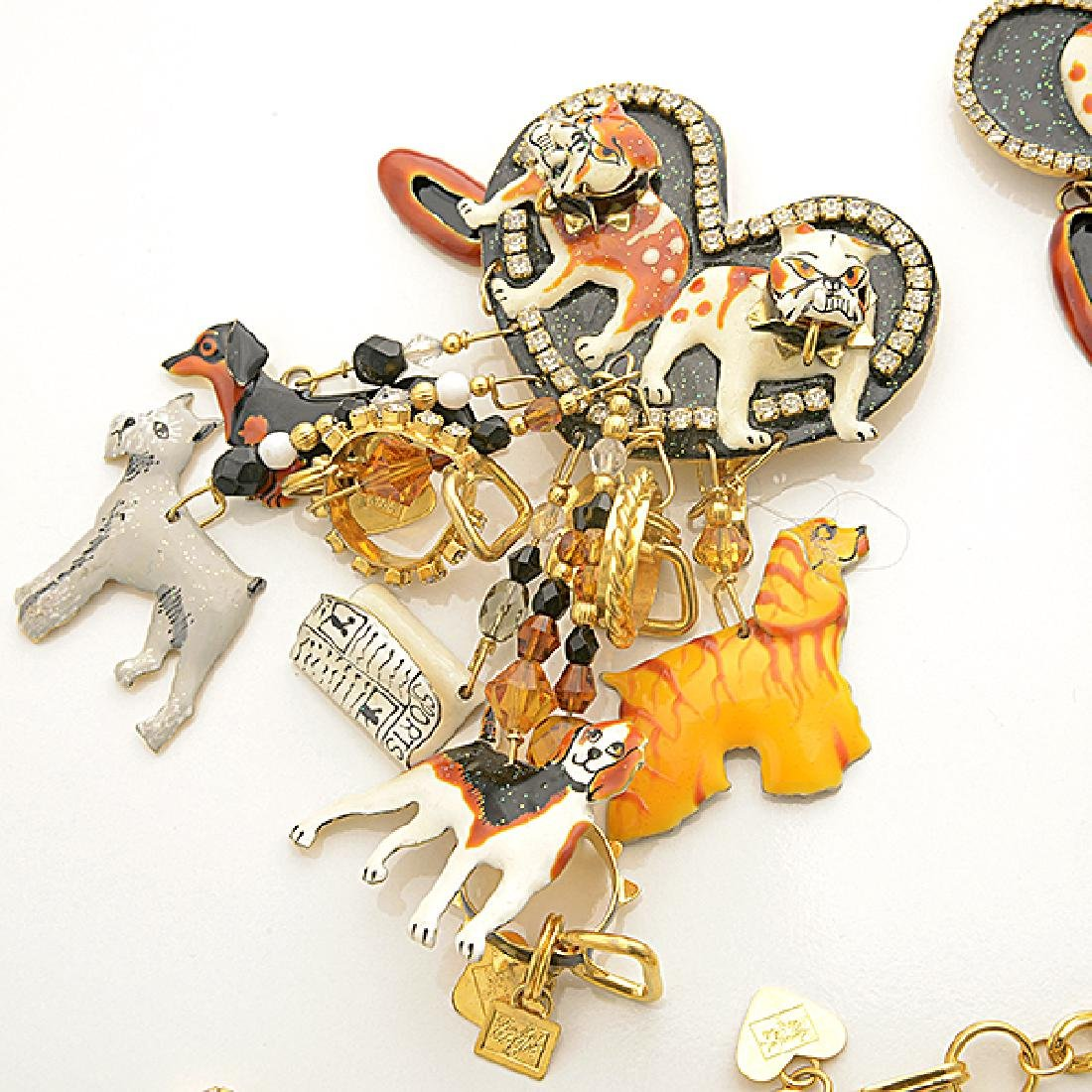 Lunch at the Ritz Couture Dog Theme Costume Jewelry - 5