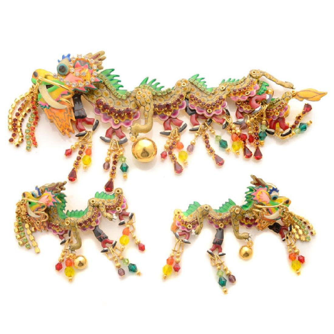 Lunch at the Ritz Couture Costume Chinese Dragon
