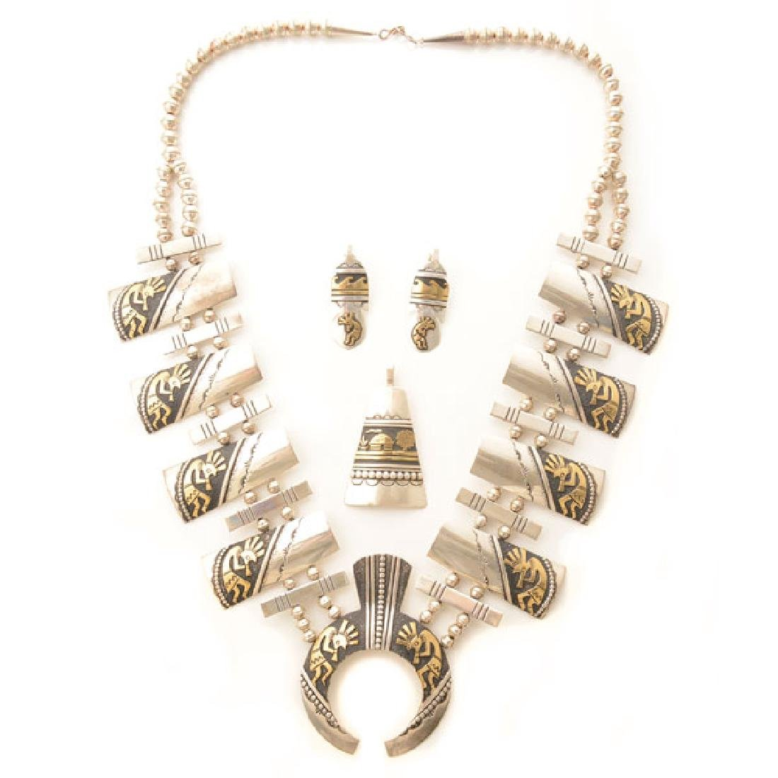 Thomas Singer Native American Sterling Silver, Gold