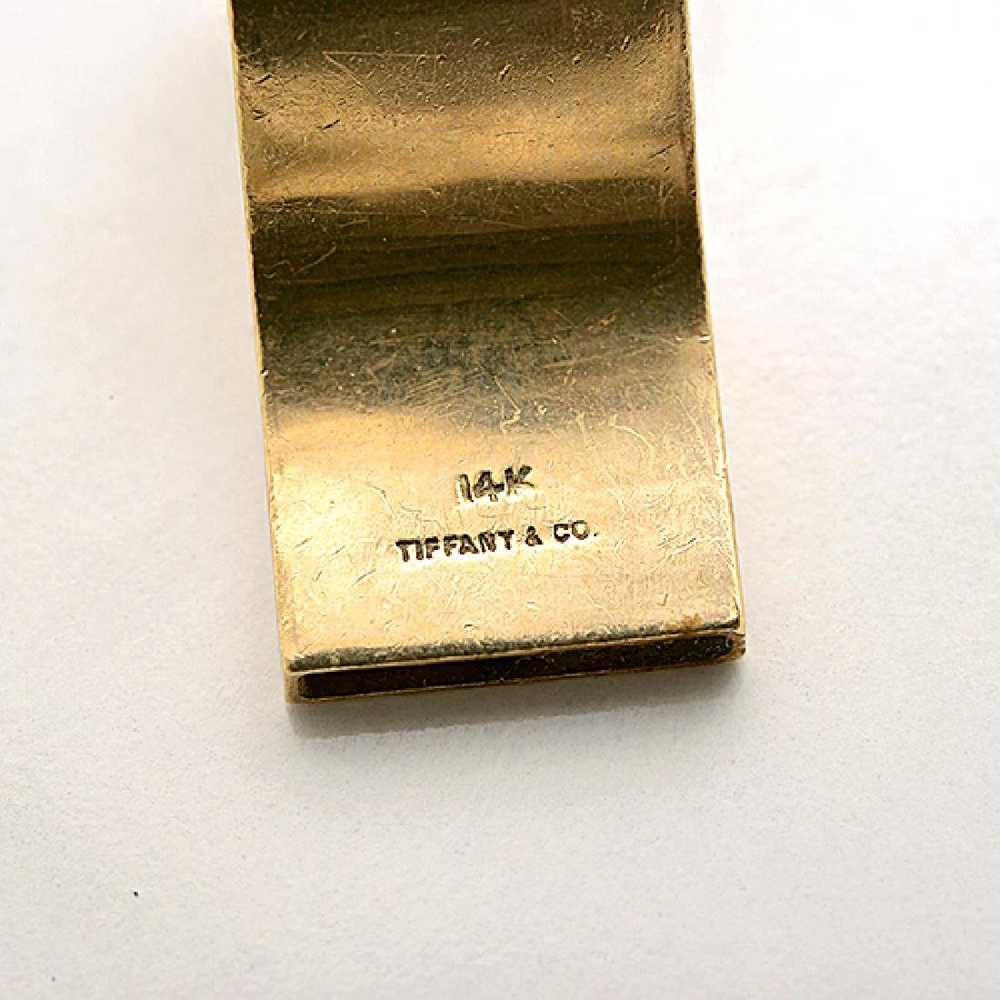 Tiffany & Co. 14k Yellow Gold Whistle Pendant Necklace. - 4