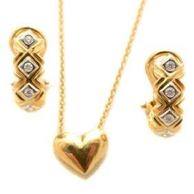 Tiffany & Co. Diamond, 18k Yellow Gold, Platinum