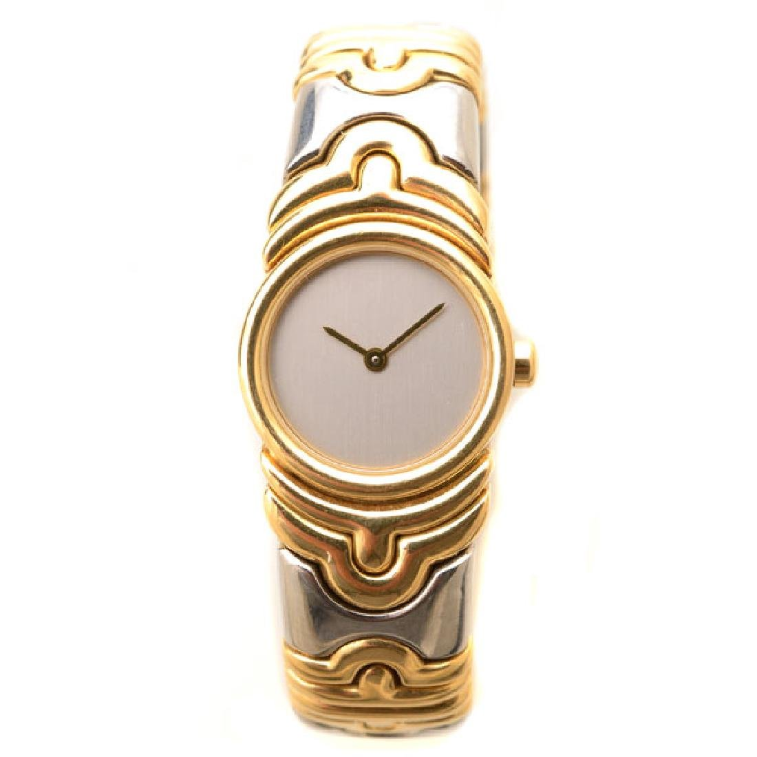 "Ladies Bulgari ""Parentesi"" 18k Yellow Gold, Stainless"