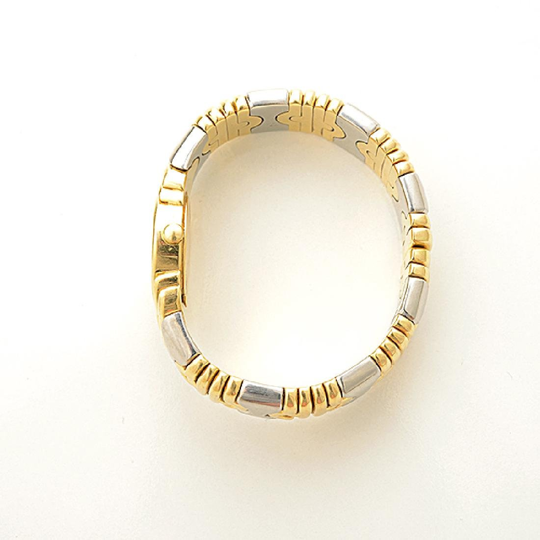 "Ladies Bulgari ""Parentesi"" 18k Yellow Gold, Stainless - 2"