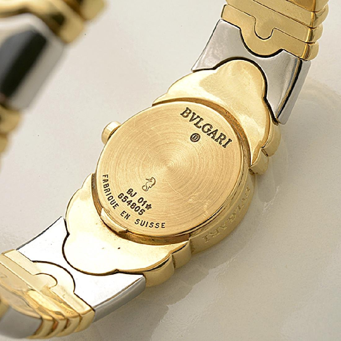 "Ladies Bulgari ""Parentesi"" 18k Yellow Gold, Stainless - 4"