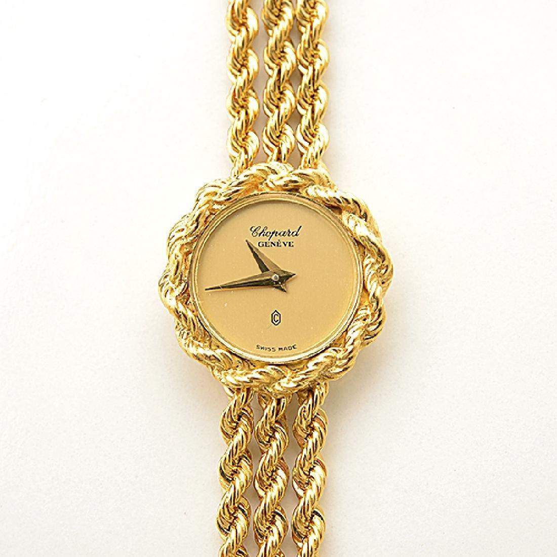Ladies Chopard 18k Yellow Gold Wristwatch. - 2
