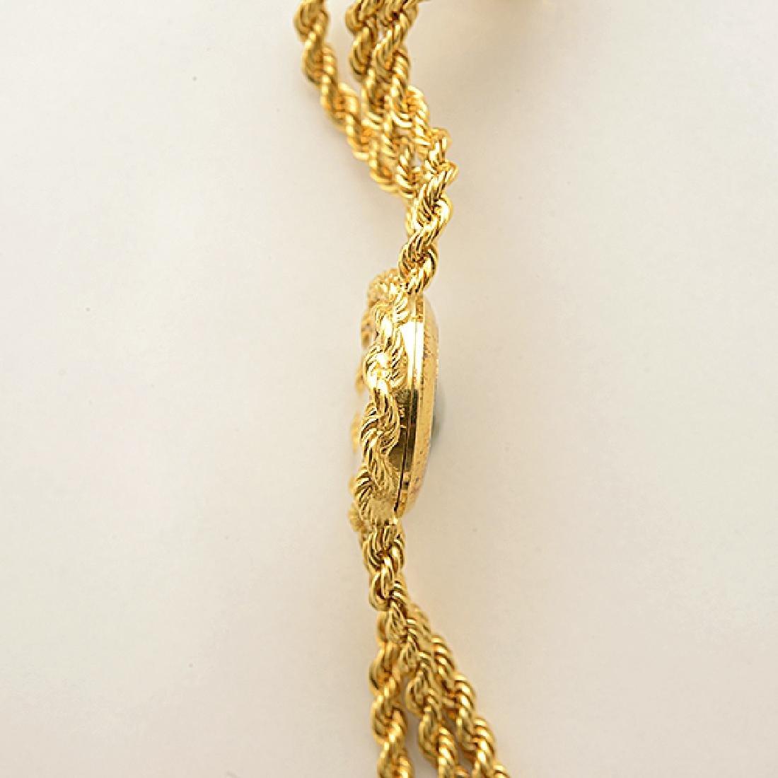 Ladies Chopard 18k Yellow Gold Wristwatch. - 3