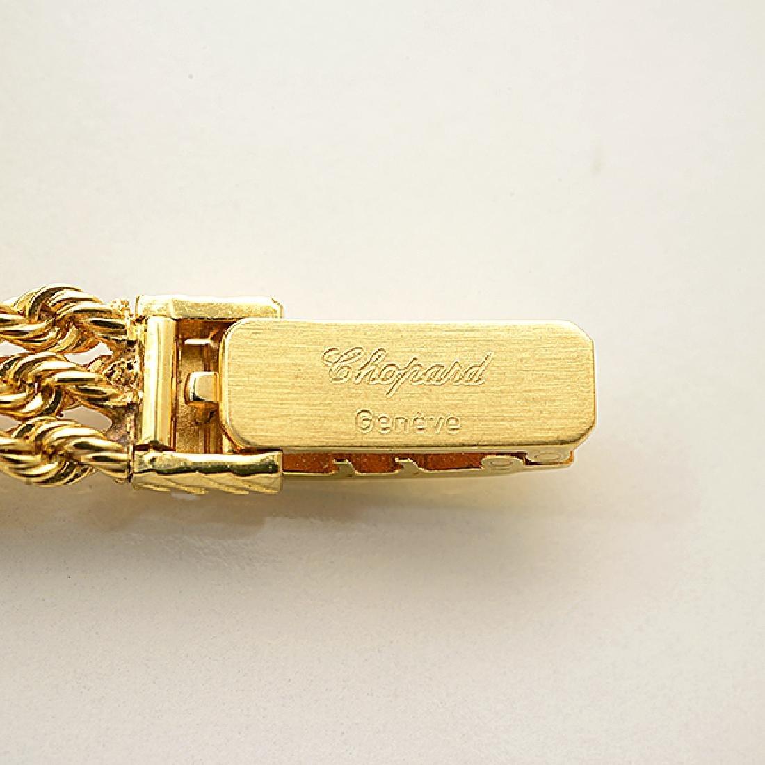 Ladies Chopard 18k Yellow Gold Wristwatch. - 5