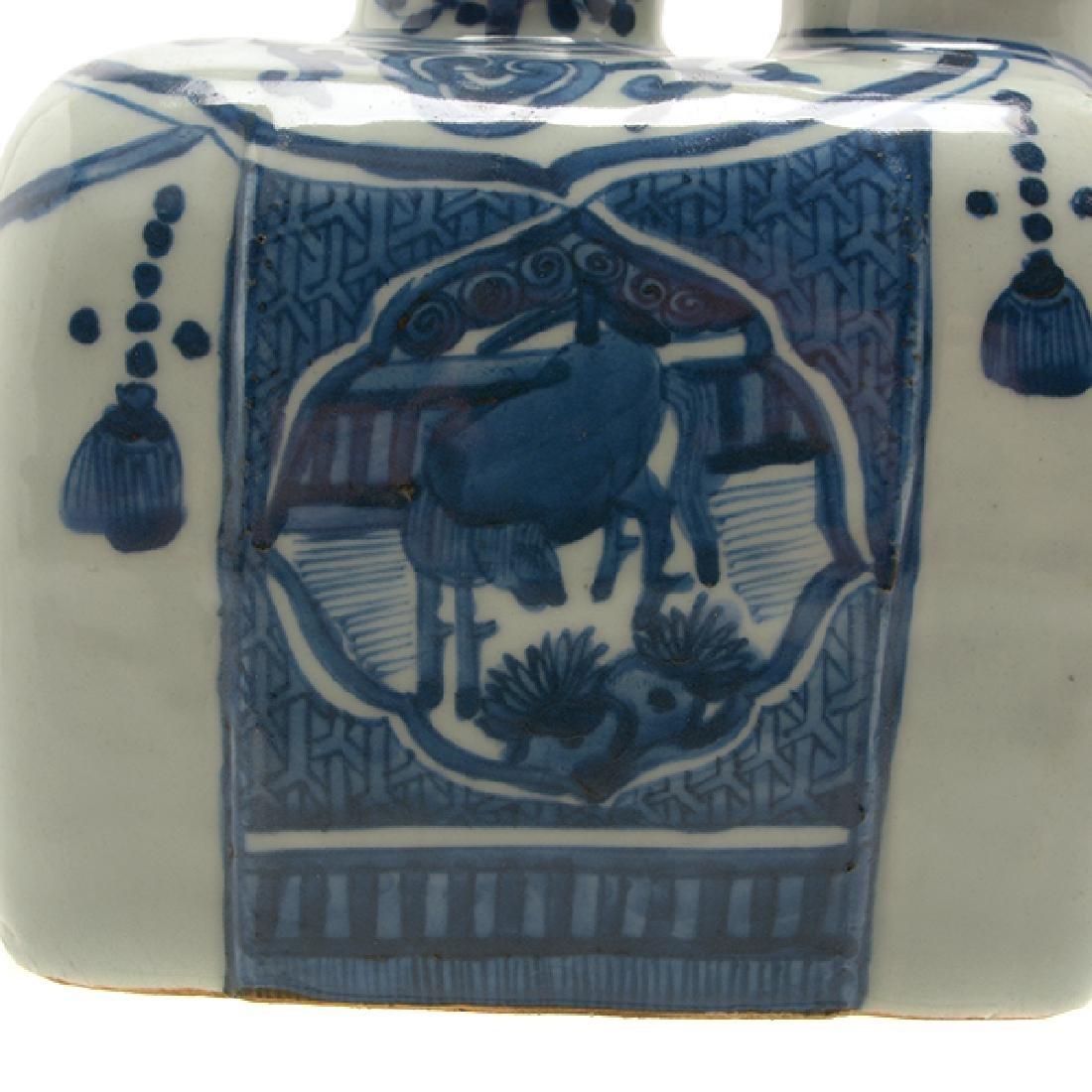 An Underglaze Blue Kendi, Wanli Period - 7