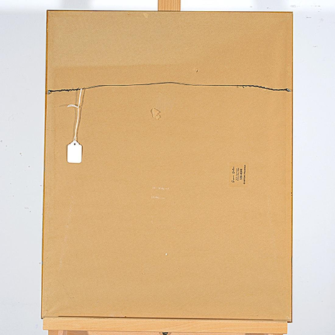 "Ota Janecek ""Three Figures"" mixed media on paper - 5"