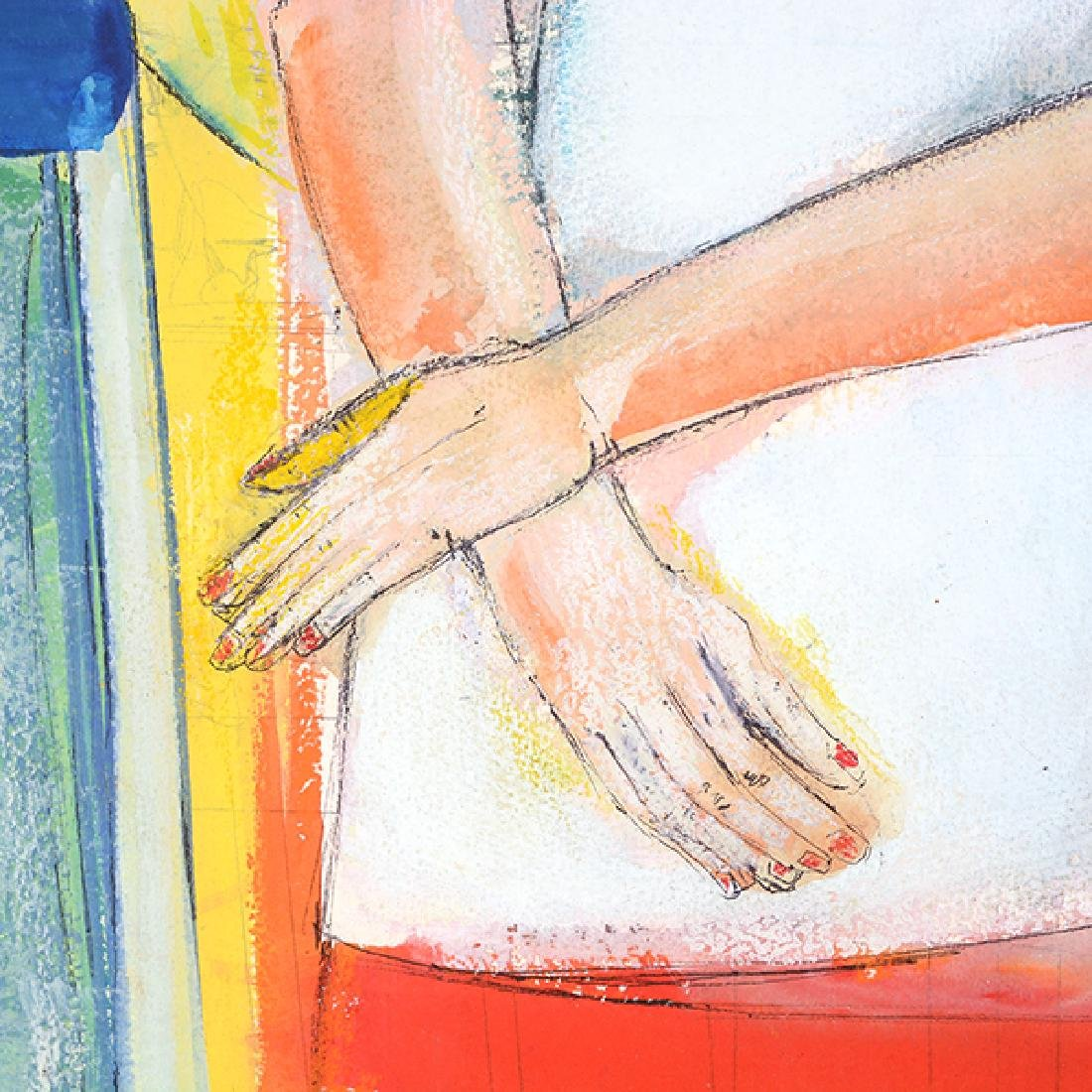 """Rene Couturier """"Seated Nude"""" and """"Madame Matisse"""" mixed - 6"""
