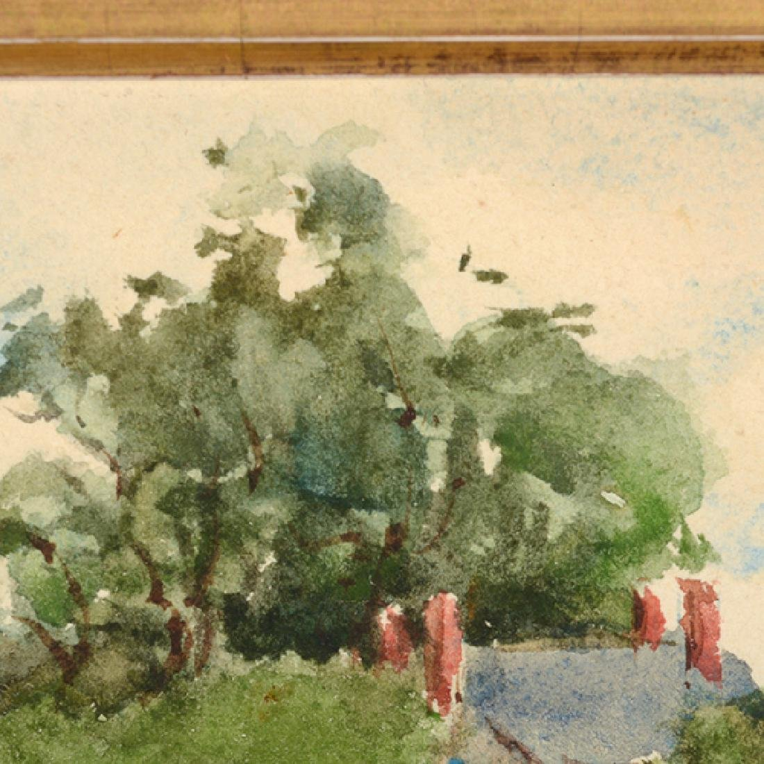 "Sydney Burleigh ""English Countryside"" watercolor - 8"