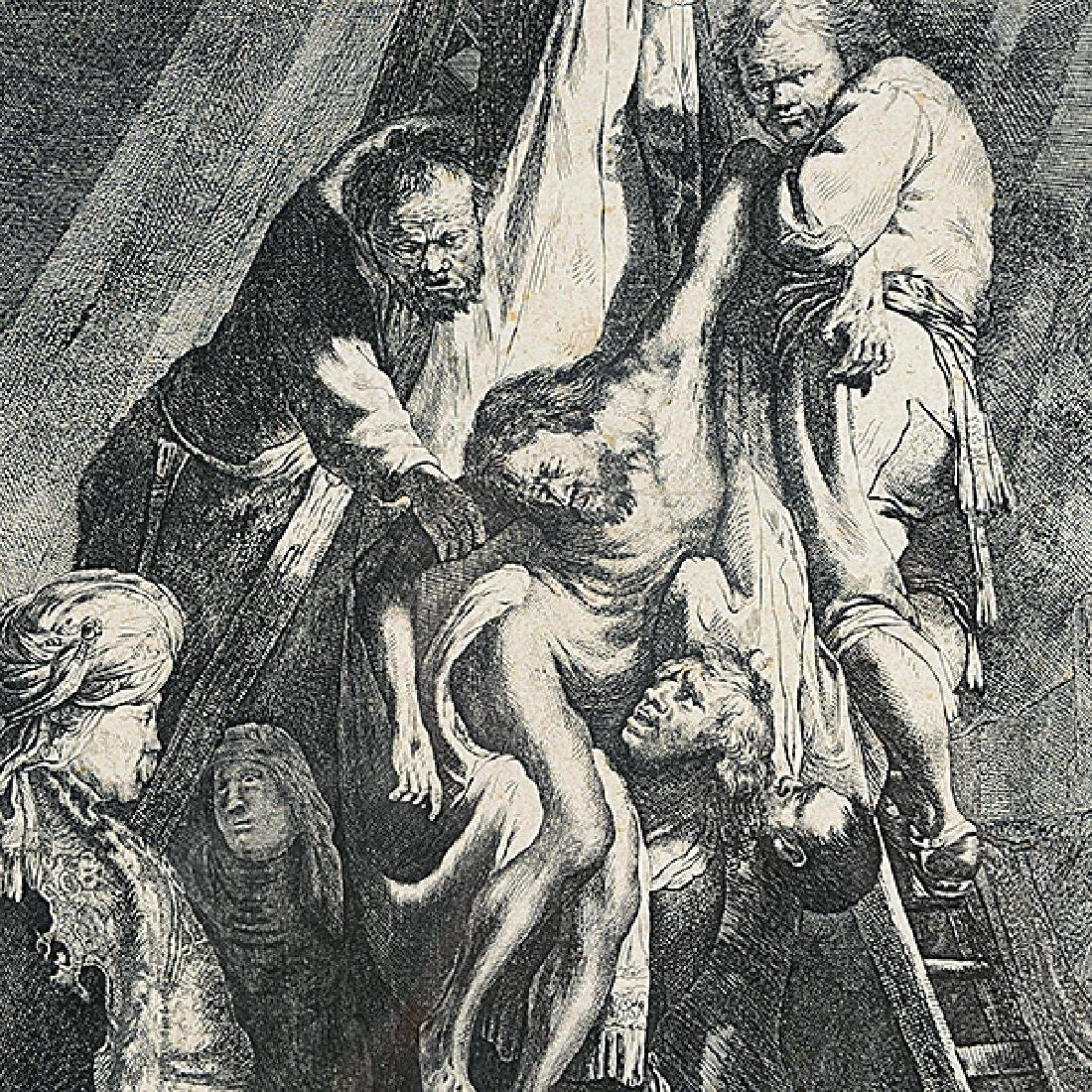 "After Rembrandt ""The Descent from the Cross, 1633"" - 3"
