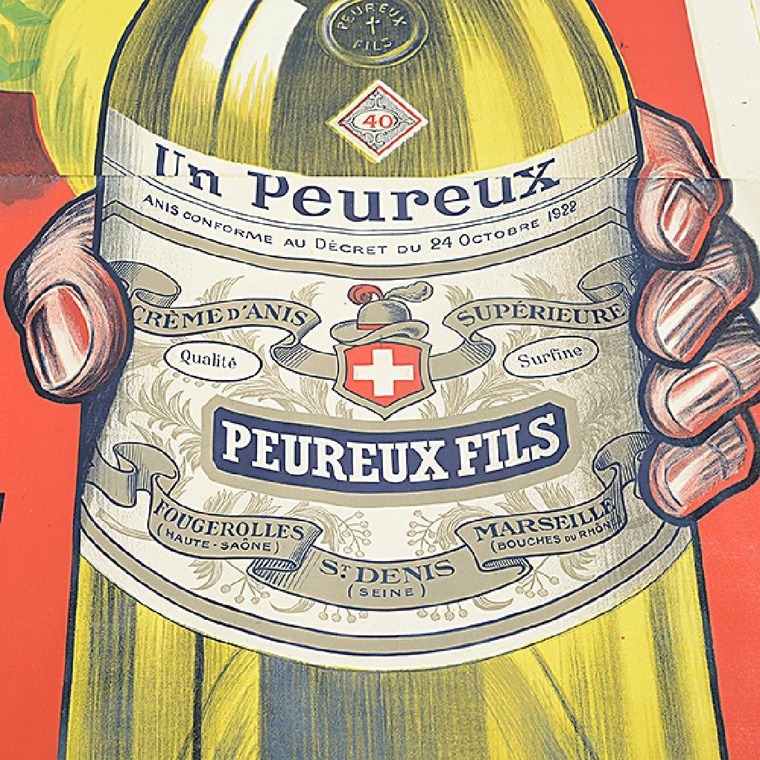 """Henry Le Monnier """"Un Peureux Fils"""" lithograph poster - 3"""