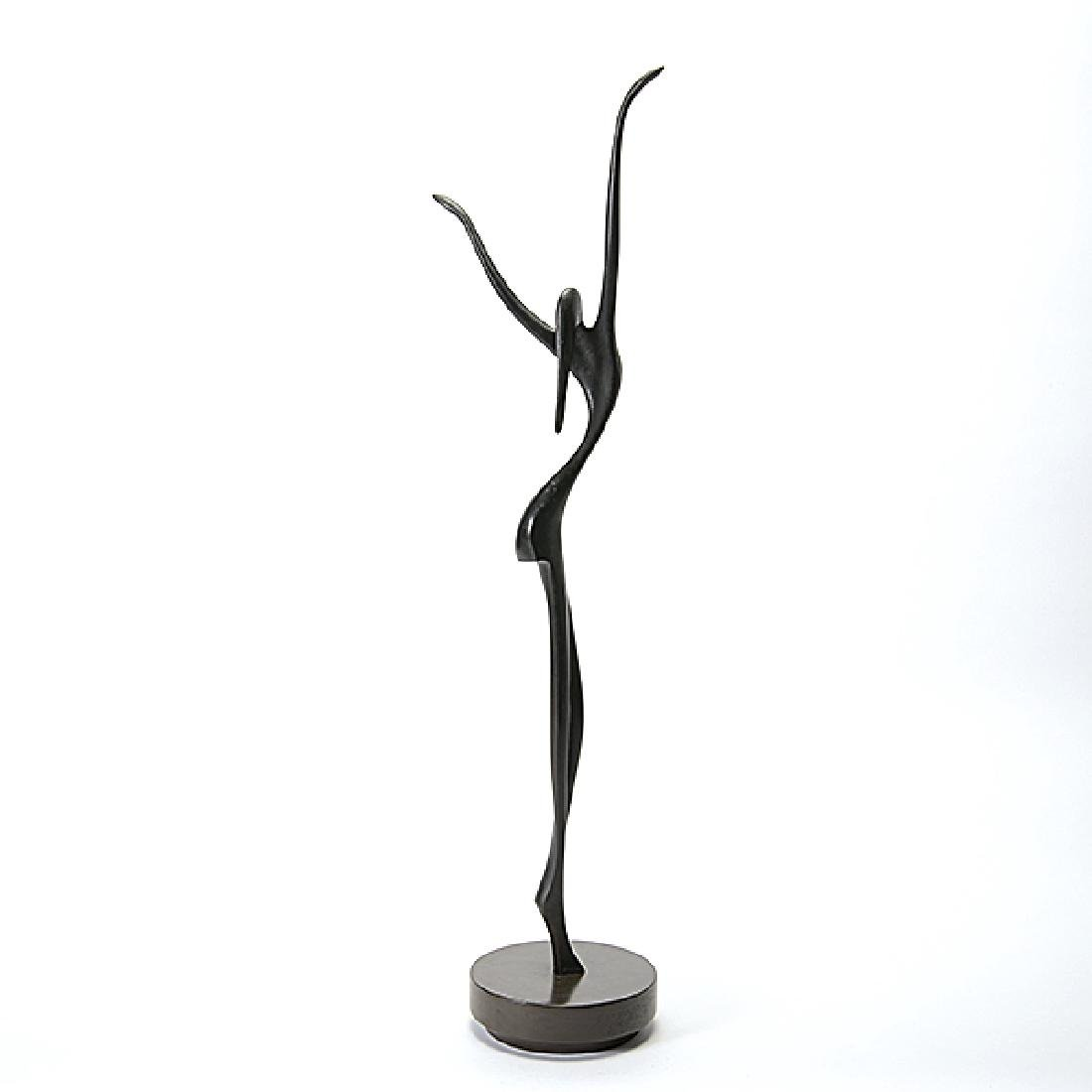 "Victor Halvani ""The Dancer"" bronze - 3"