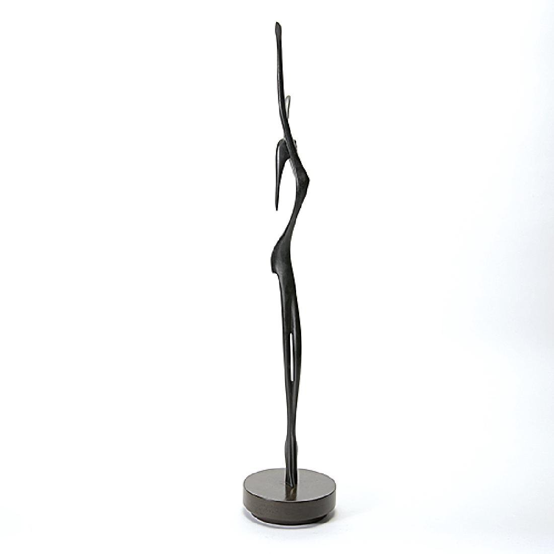 "Victor Halvani ""The Dancer"" bronze - 4"