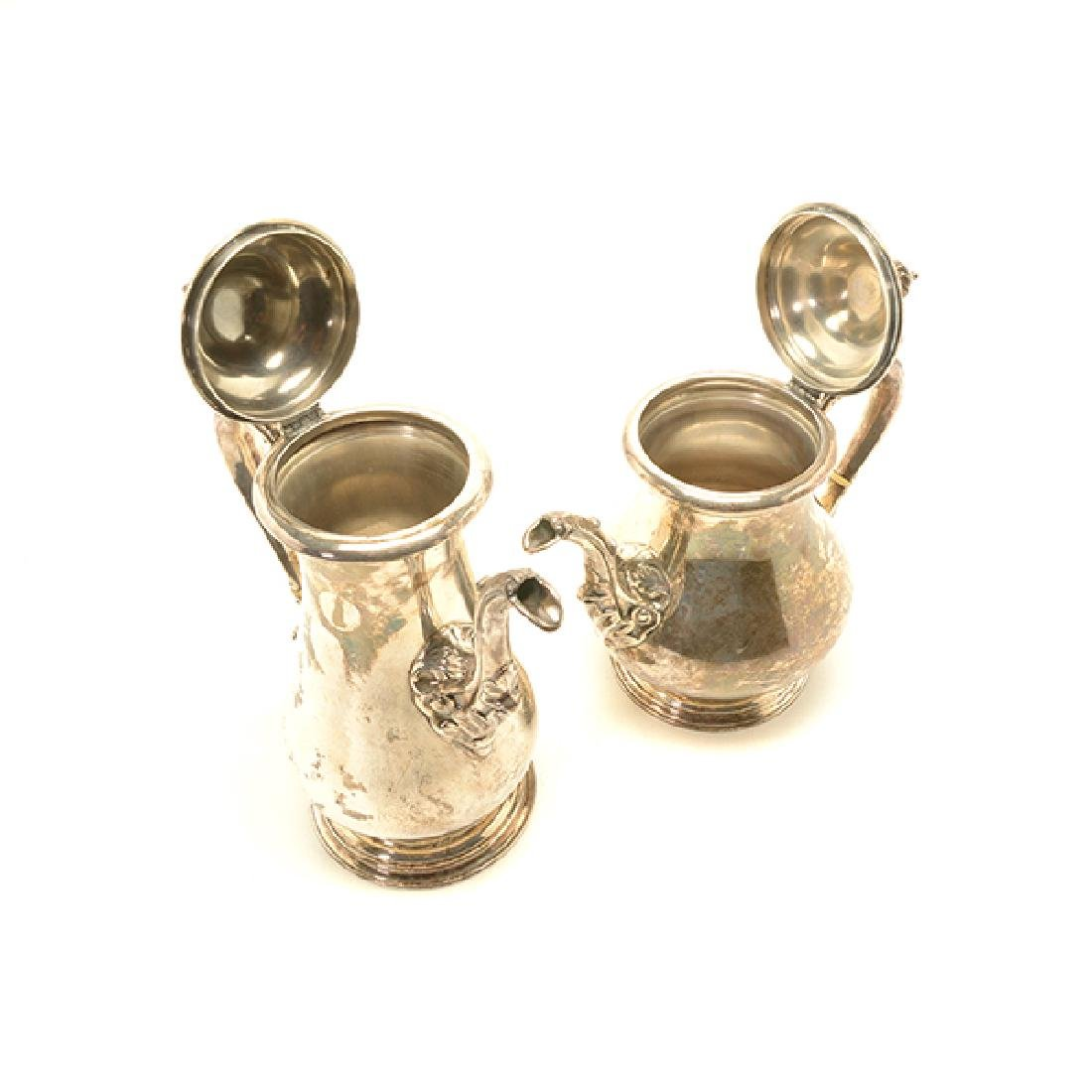 Shreve Sterling Five Piece Coffee and Tea Service - 4