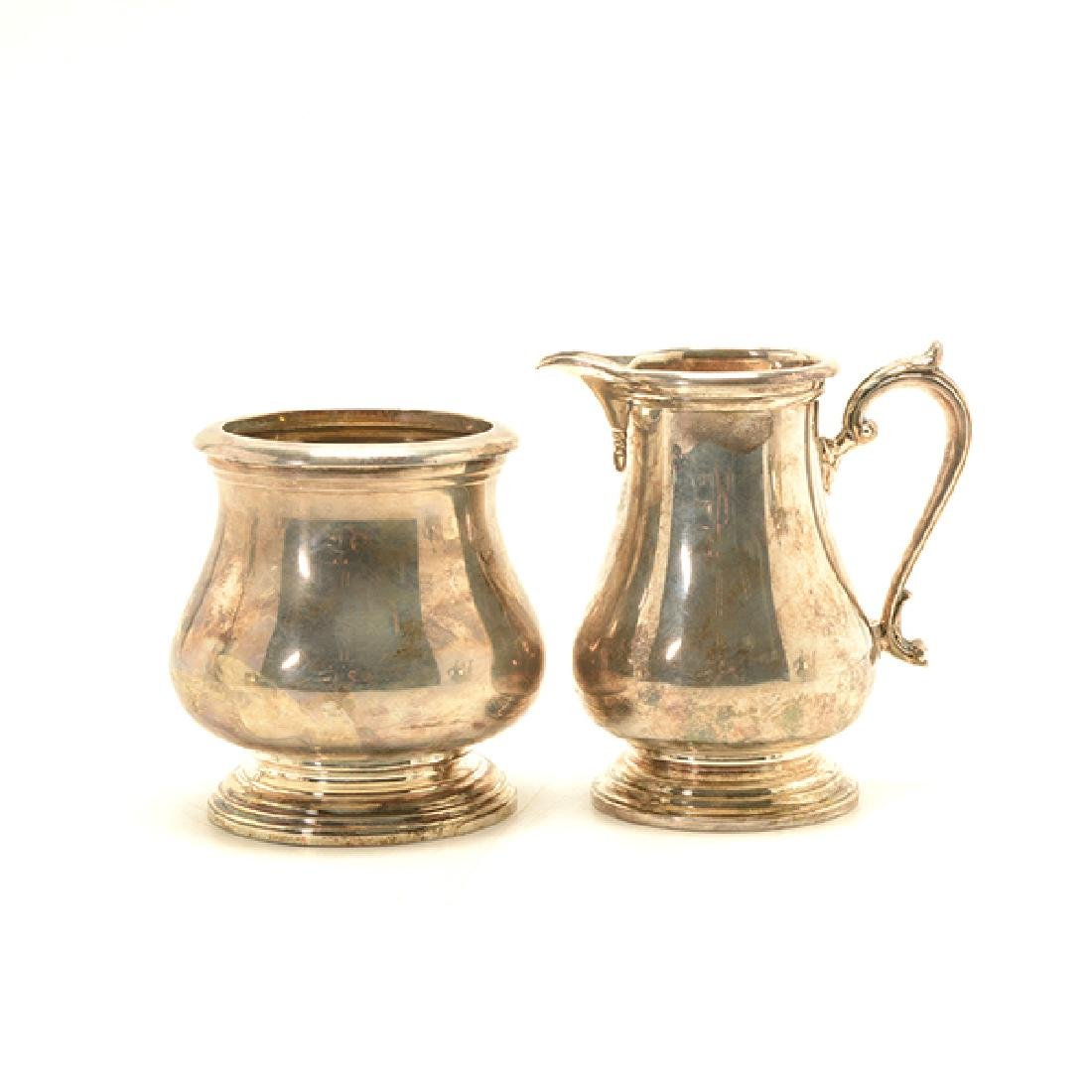 Shreve Sterling Five Piece Coffee and Tea Service - 7