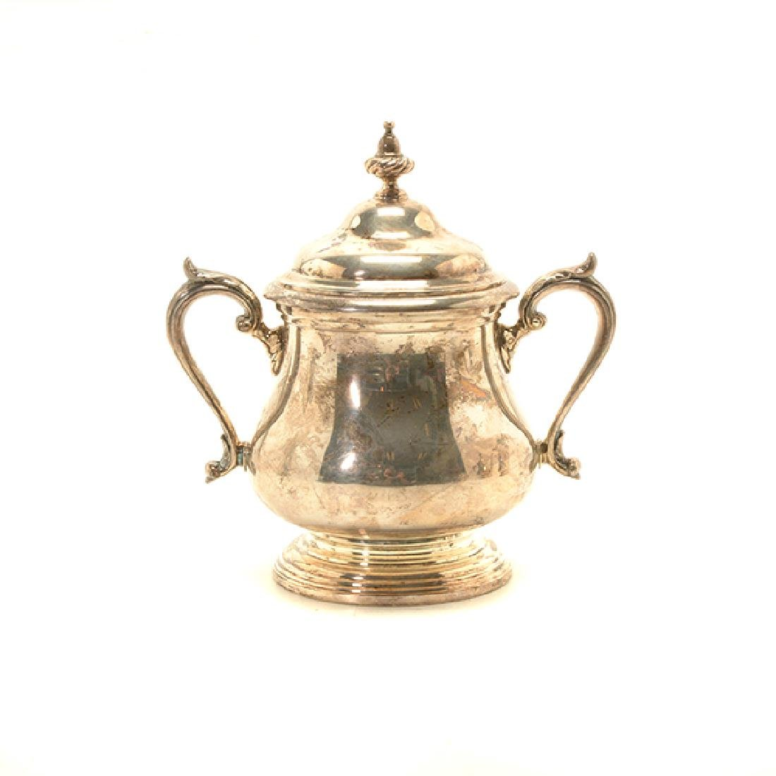 Shreve Sterling Five Piece Coffee and Tea Service - 9