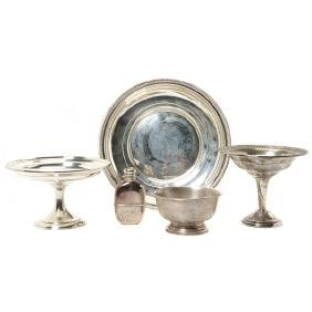 Five Sterling Table Articles