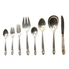 International Royal Danish Sterling Silver Flatware