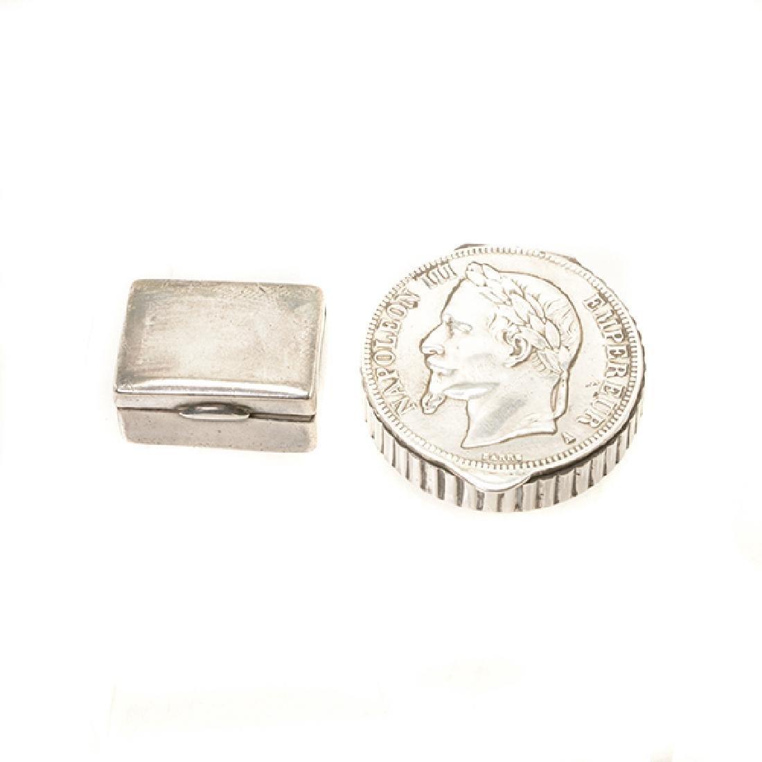 Seven Continental Silver Articles - 8