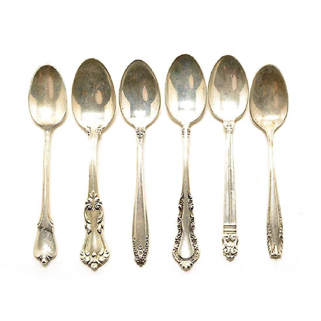 Collection of Assorted Sterling Flatware and Serving - 2