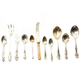 Large Collection of Silver Flatware