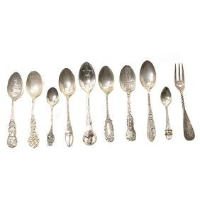 Collection of Assorted Sterling Silver and Silver Plate