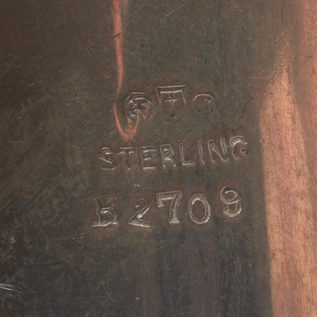Gorham Sterling Mounted Ten Piece Dressing Set - 8