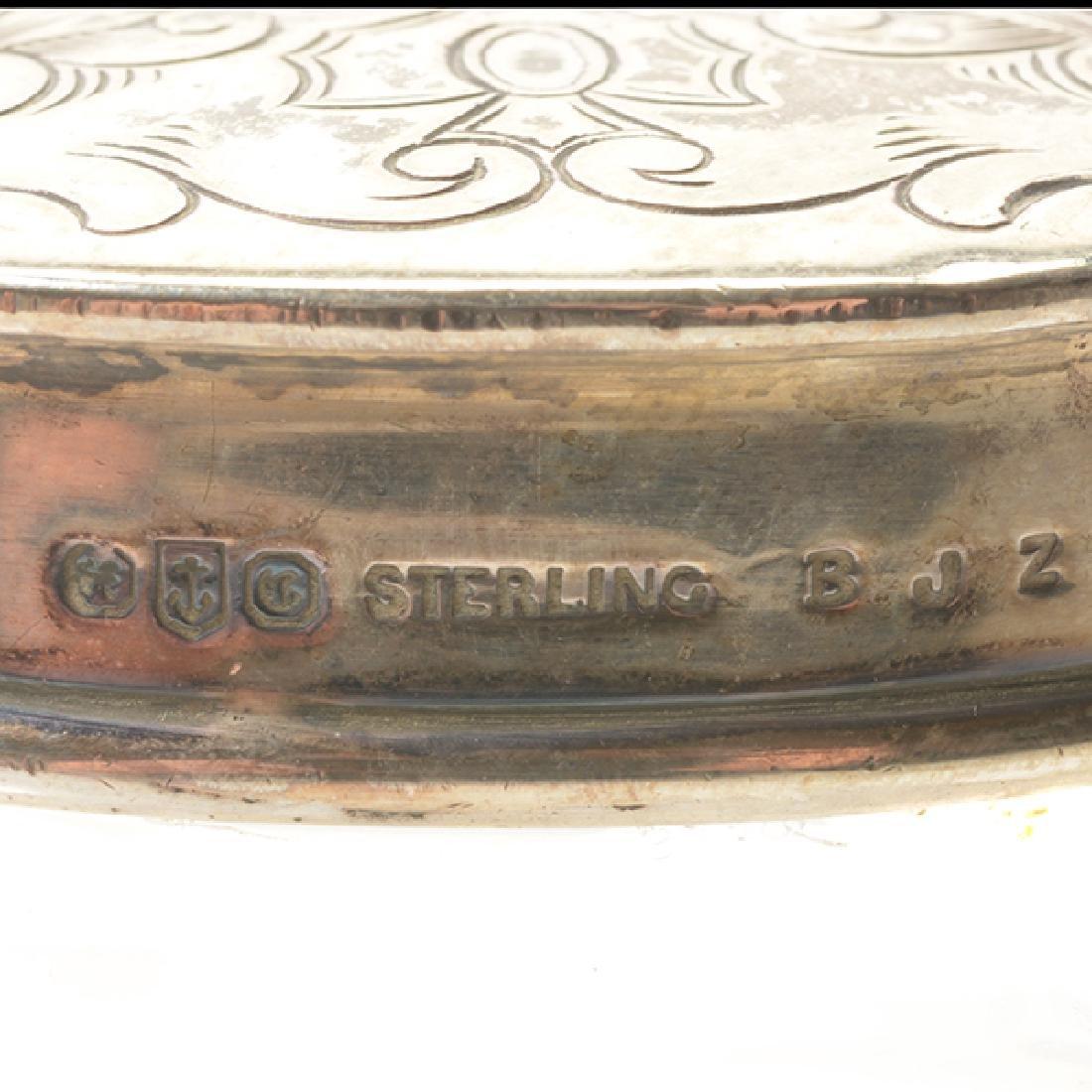 Gorham Sterling Mounted Ten Piece Dressing Set - 9