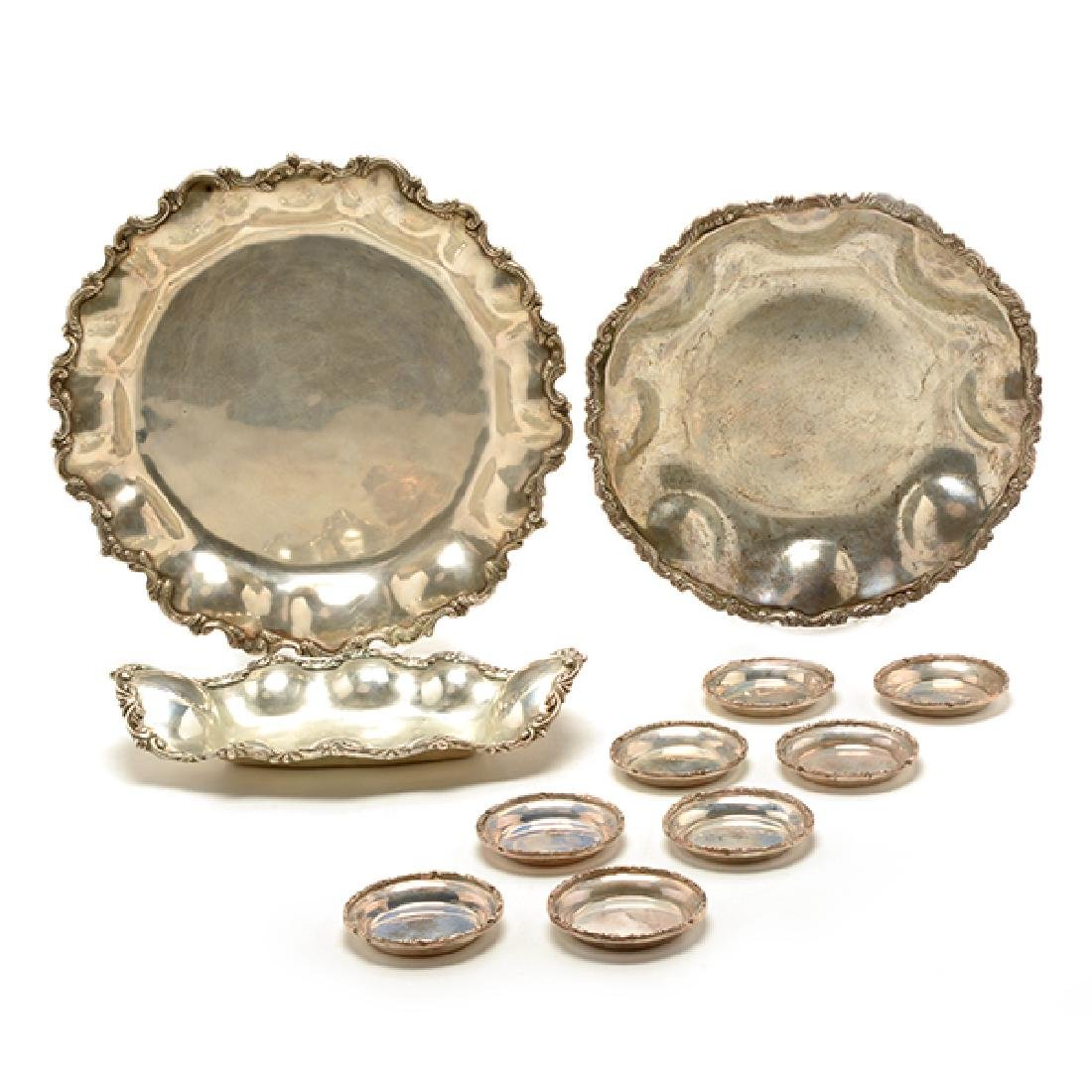 Collection of Mexican Sterling Silver Table Articles