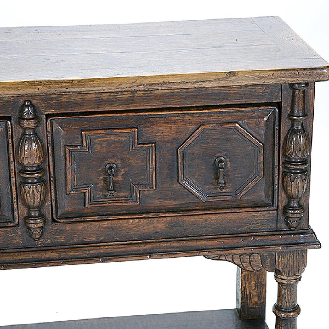 Dutch Baroque Style Sideboard - 5