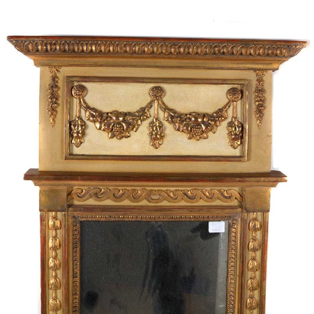 Neoclassical Style Giltwood Mirror - 2