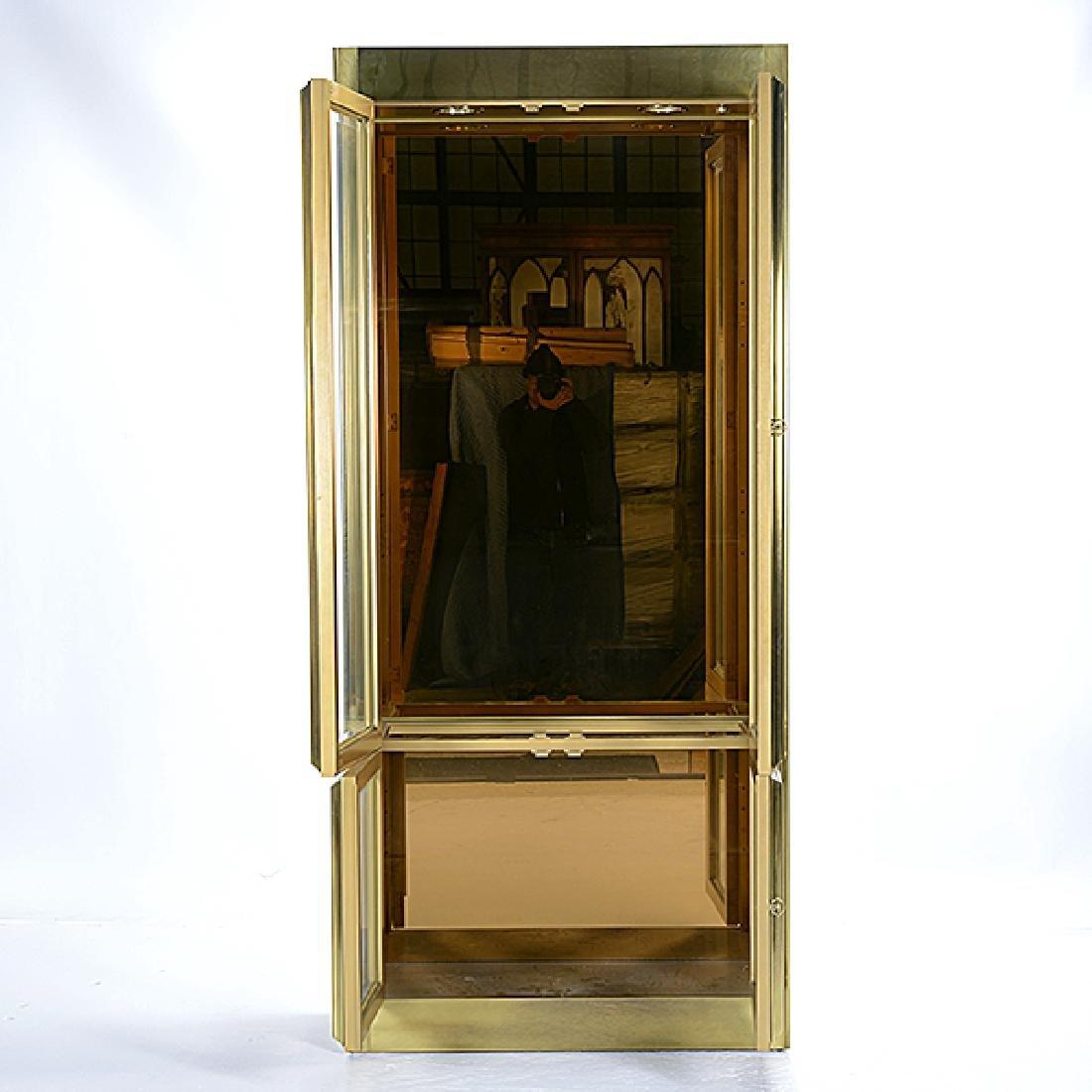 Mastercraft Gilt Brass China Cabinet - 3