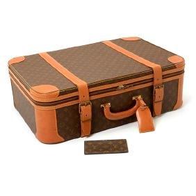 Louis Vuitton Tuleries Monogram Suitcase and Checkbook
