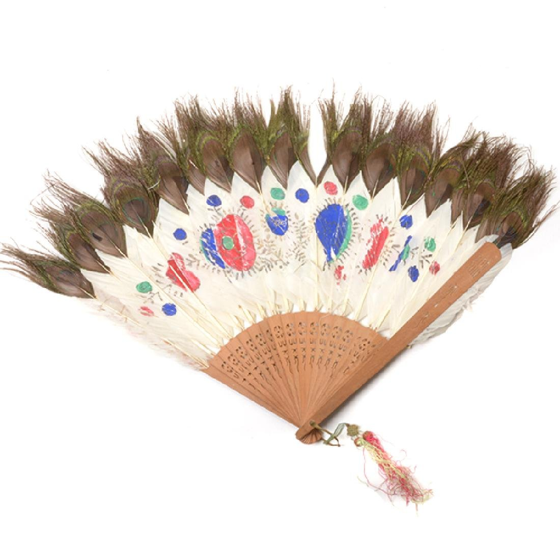 Collection of Ladies' Fans and Two Combs - 10