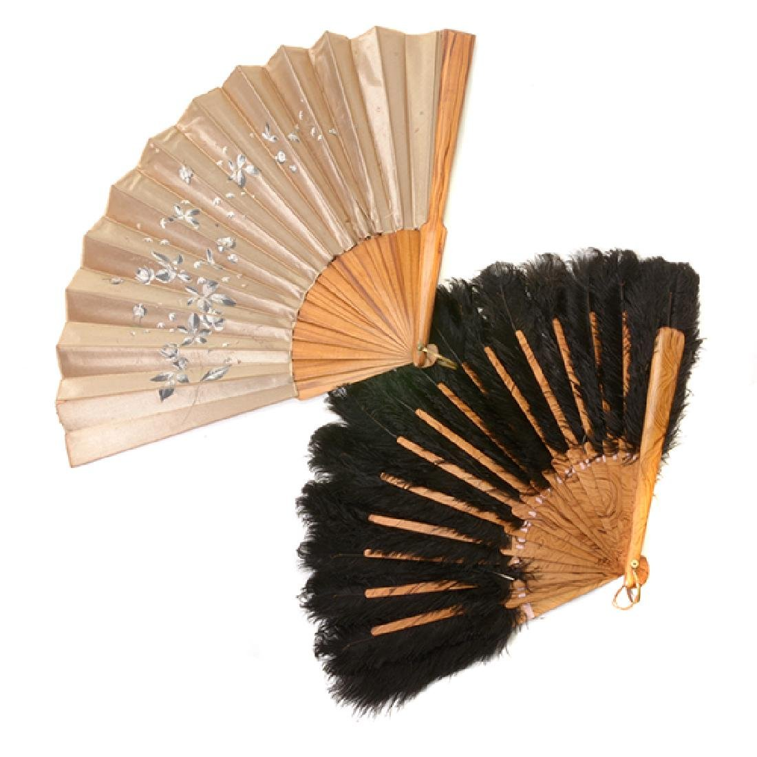 Collection of Ladies' Fans and Two Combs