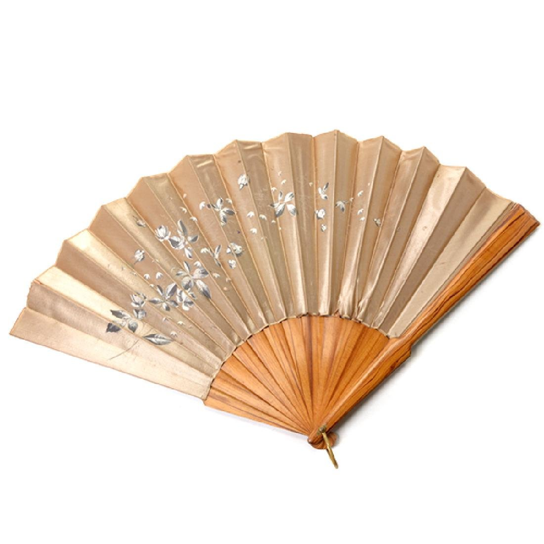 Collection of Ladies' Fans and Two Combs - 3