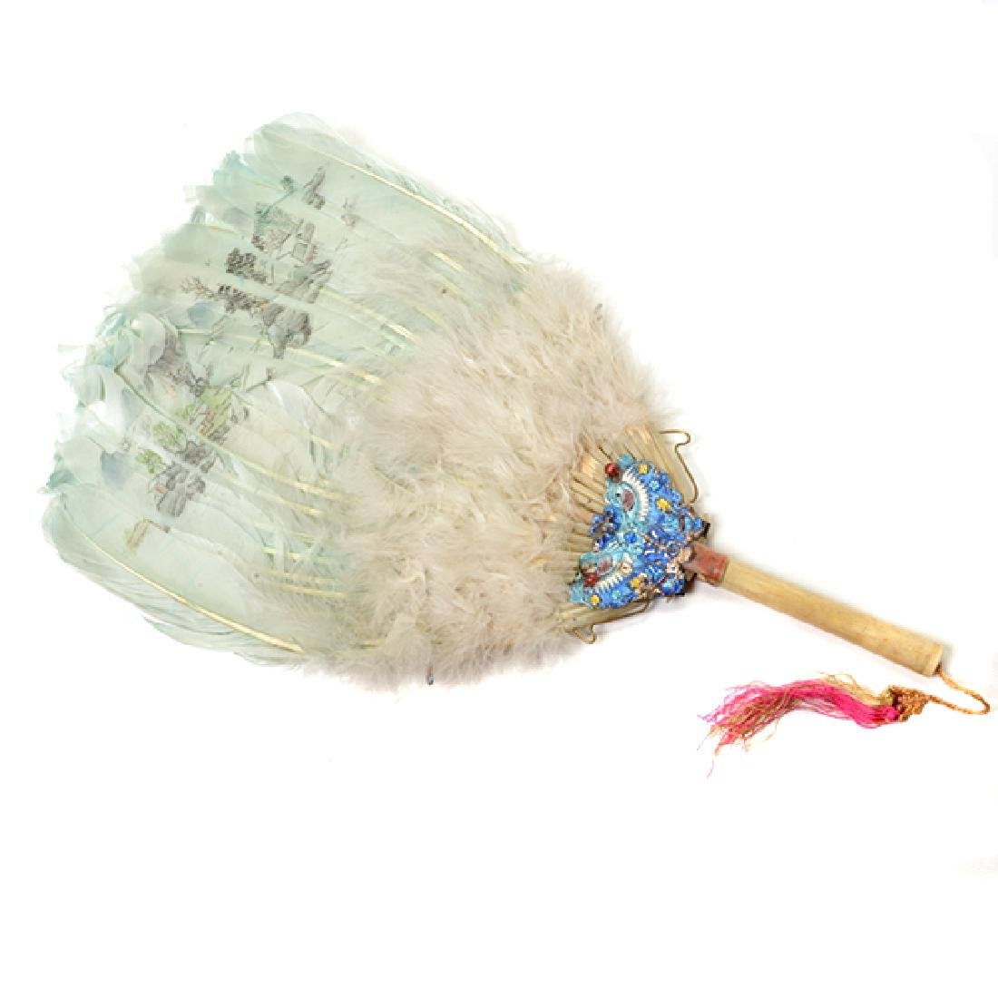 Collection of Ladies' Fans and Two Combs - 7