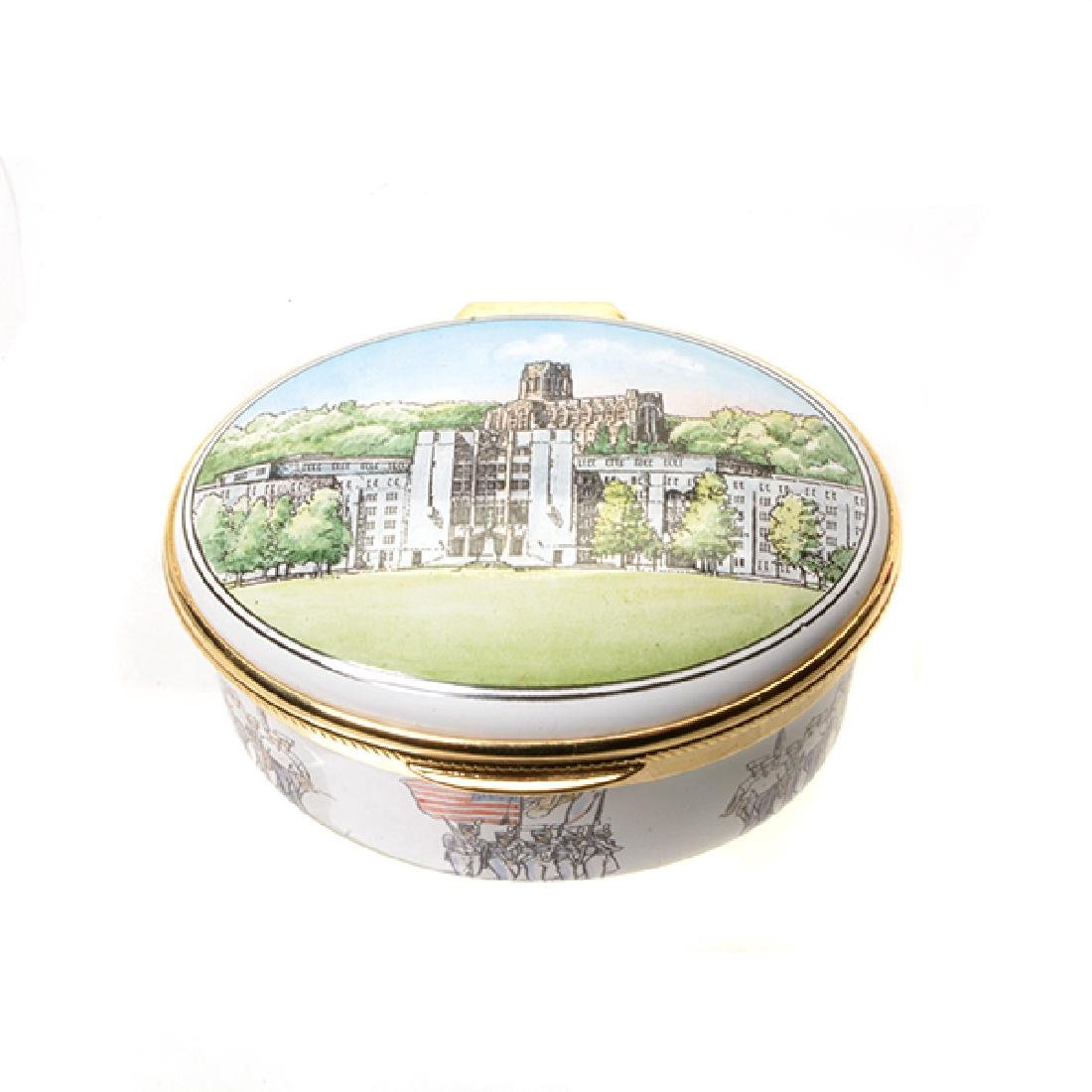 Collection of Porcelain Enameled Boxes - 3
