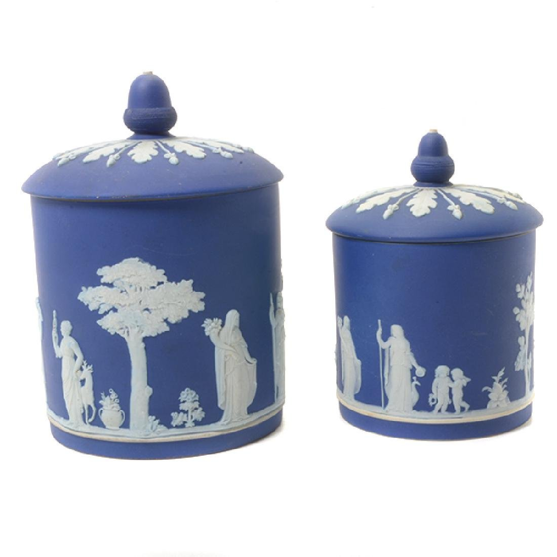 Collection of Wedgwood Jasperware Table Articles - 2