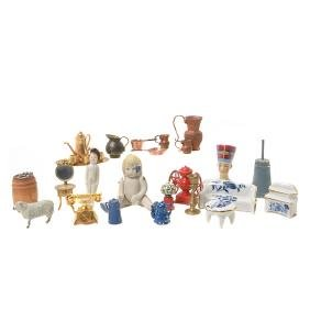 Group of 56 Miniatures,
