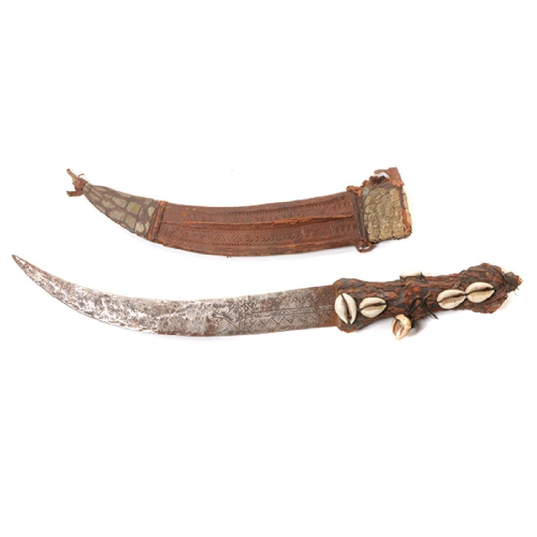 Six Handmade Daggers and One Machete - 5