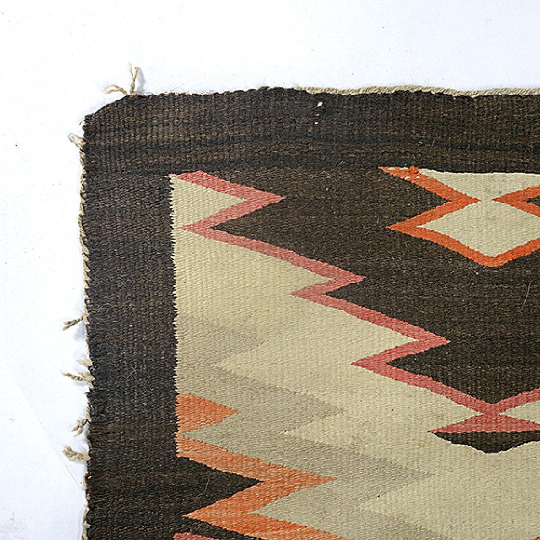 Navajo Rug with Patchwork Diamond - 2